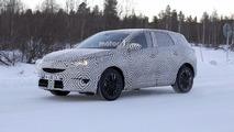 Photos espion - L'Opel Grandland X 2017 en tenue hivernale