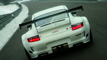 Porsche 911 GT3 RSR Race Car Gets Improved Aerodynamics & Larger Engine for 2009
