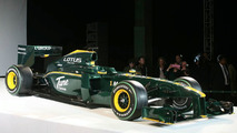 Lotus launch 'solid' 2010 car called T127