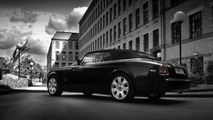 Rolls Royce Drophead Coupe with Kahn Dark Mist wheels
