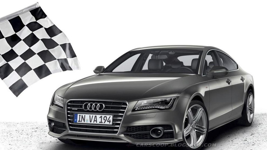 Audi A7 Sportback S-Line: First photos, details surface