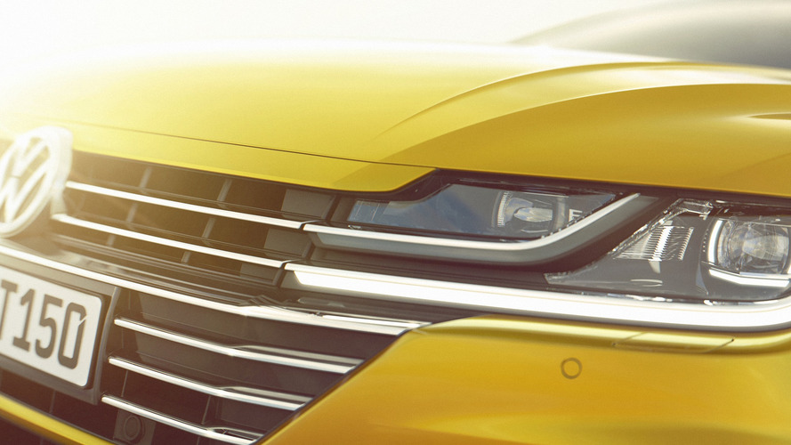 VW Arteon teasers reveal deep ties to Sport Coupe Concept GTE