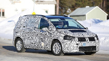 Next generation Volkswagen Touran keeps a full body camo in latest spy shots