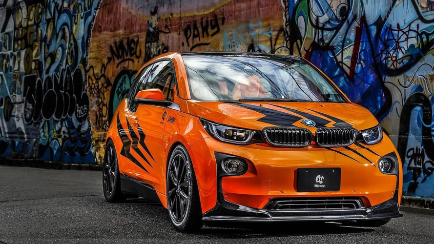 BMW i3 gets flashy makeover from 3D Design and Studie Thailand