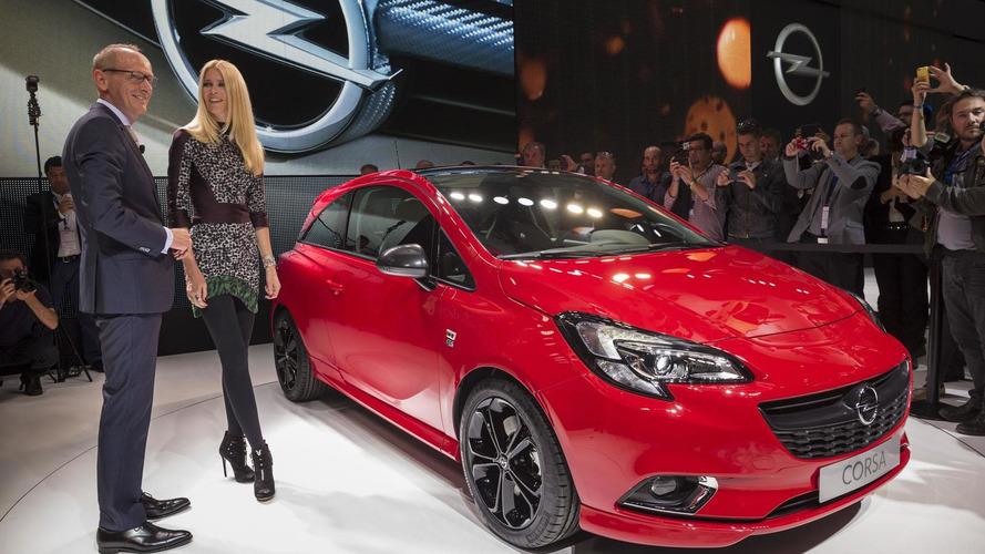 2015 Opel / Vauxhall Corsa unveiled in Paris