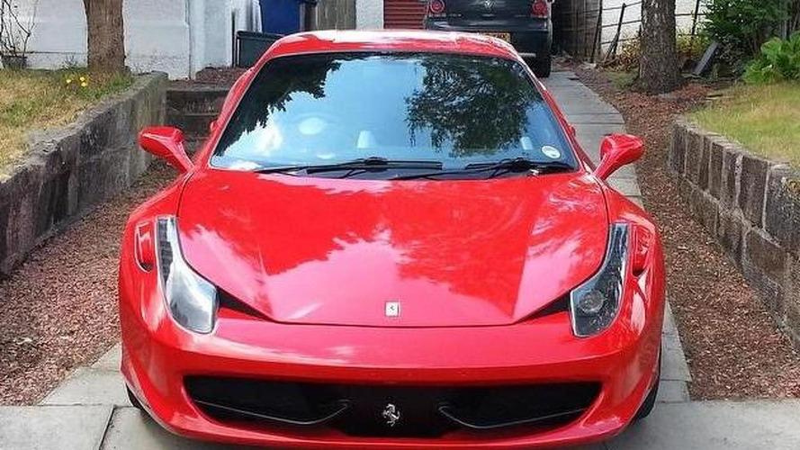 Ferrari 458 Italia replica is a really nice effort