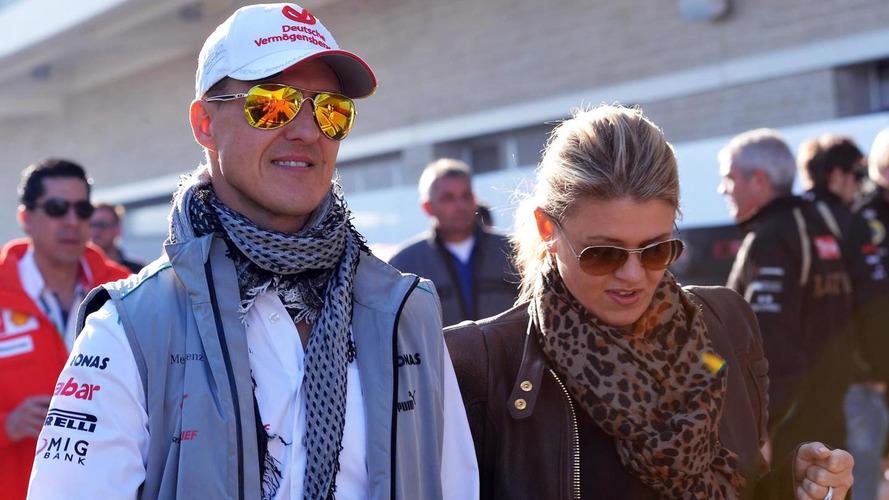 Bild publishes photos of Schumacher's wife smiling