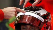 Zylon visor saved Chilton in Germany - report