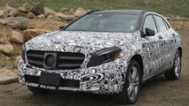 2014 Mercedes-Benz GLA spy photo 11.07.2013