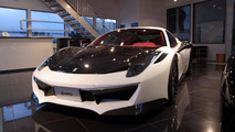DMC Ferrari 458 Italia Estremo Edizione revealed with 592 HP