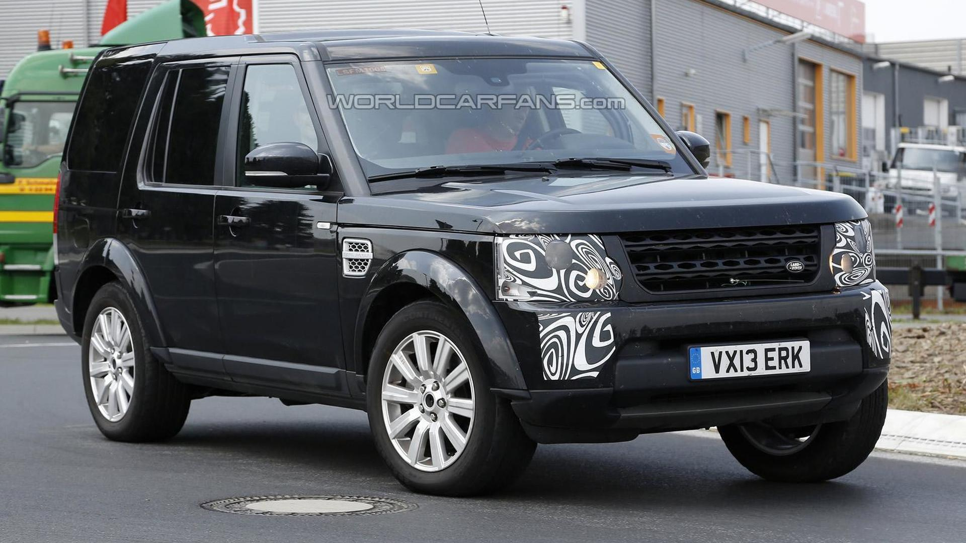 2014 Land Rover Discovery facelift spied once again