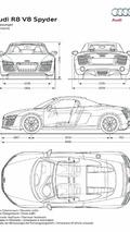 2013 Audi R8 Spyder dimensions