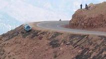 Spectacular crash at Pikes Peak