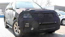 Kia Mohave spy shots