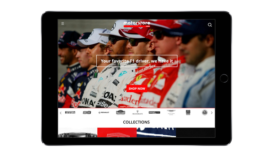 Global Digital Media Company Motorsport Network Launches E-commerce Platform – Motorstore.com