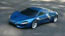 Extravagantly Styled Renault Alpine Concept Rendered