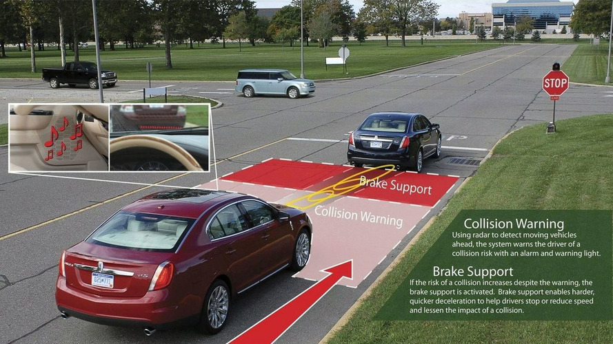 Ford Introduces Collision Warning with Brake Support