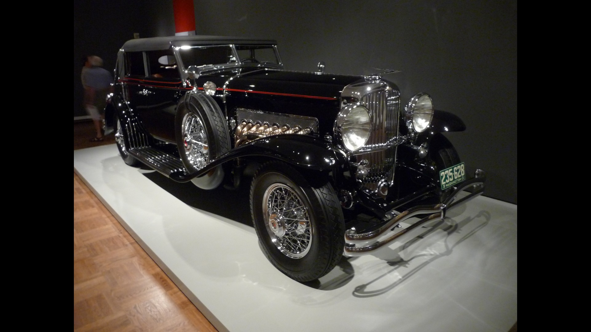 Duesenberg SJ Convertible Sedan
