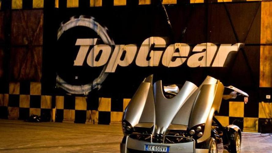 Pagani Huayra sets Top Gear track record