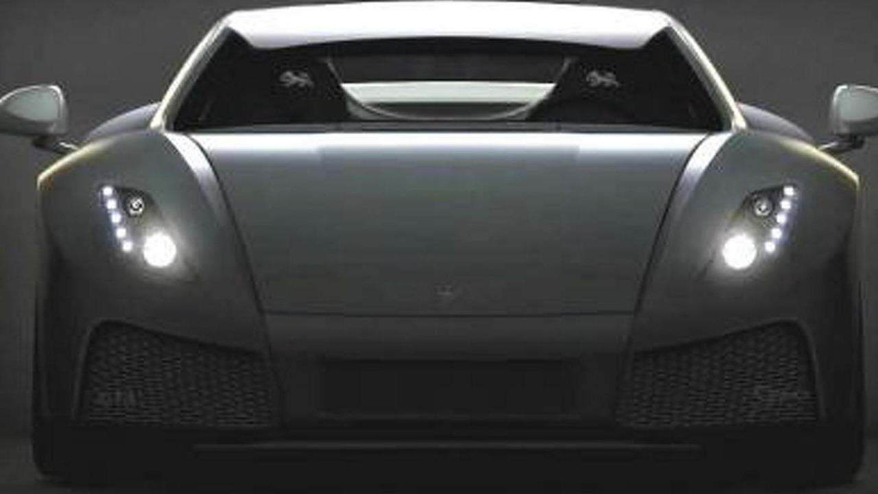 2013 GTA Spano teaser image digitally enhanced 20.2.2013