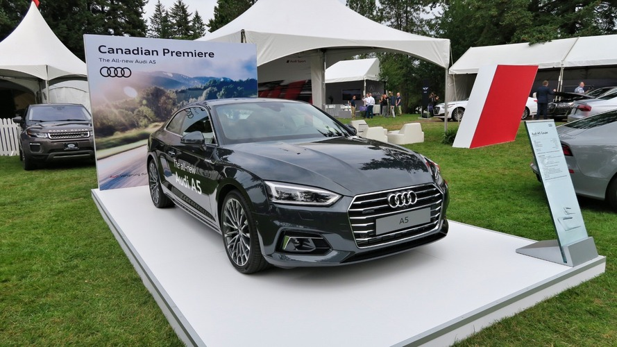2018 Audi A5 coupe surprises with North American debut in Vancouver