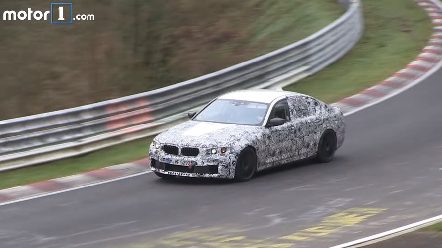 2018 BMW M5 goes all out on the Nurburgring