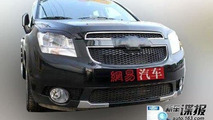 Chevrolet Orlando spied in China with little camouflage
