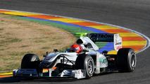 Mercedes GP W01 Car Revealed