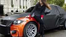 BMW 1-Series M Coupe teaser photos and video from Paris