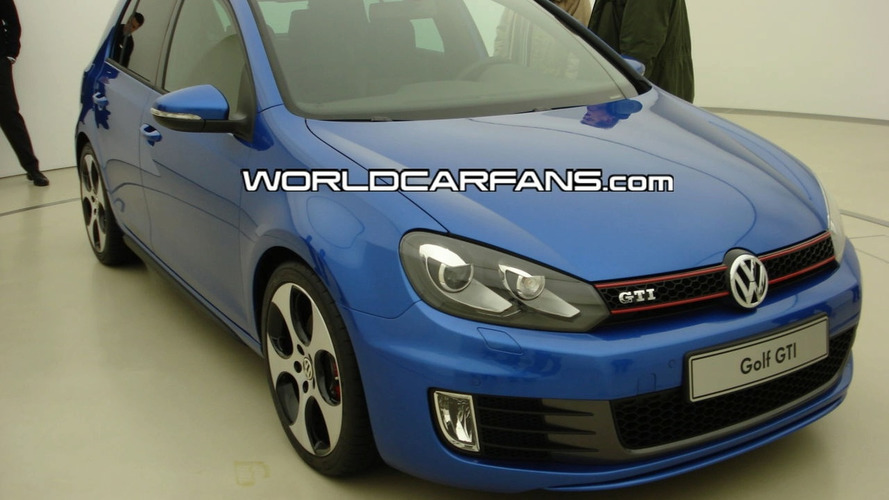 VW Golf GTI VI Production Version Images Found on UK VW site