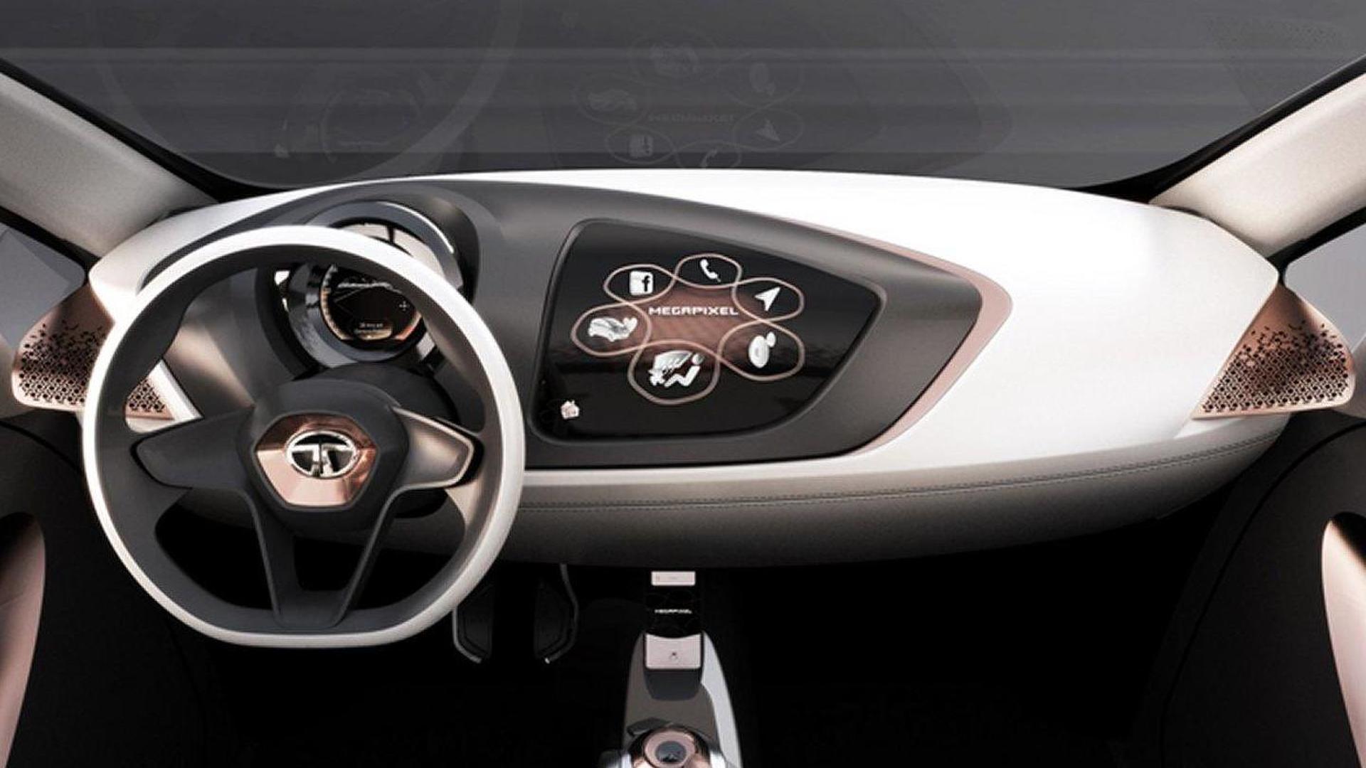 Tata Megapixel concept revealed in Geneva [video]