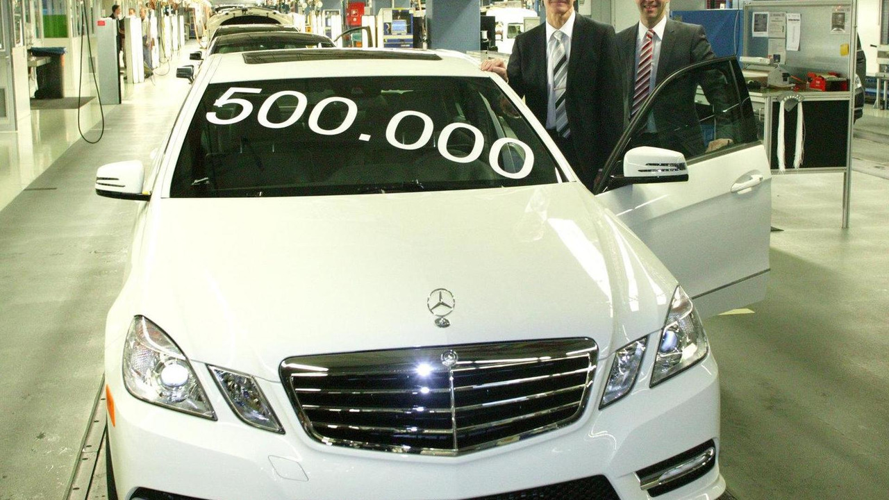 500,000th Mercedes-Benz E-Class 27.03.2012