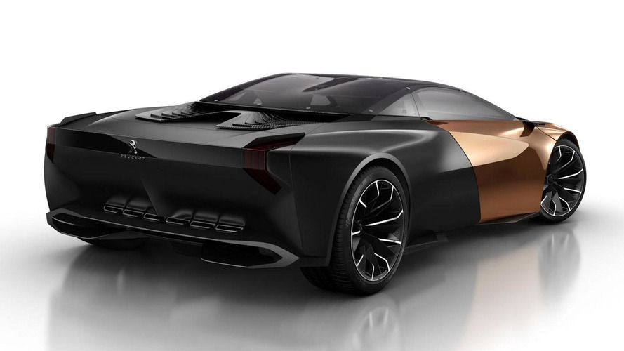 Peugeot Onyx concept leaked