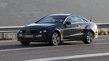 2014 Mercedes E-Class Coupe facelift spied