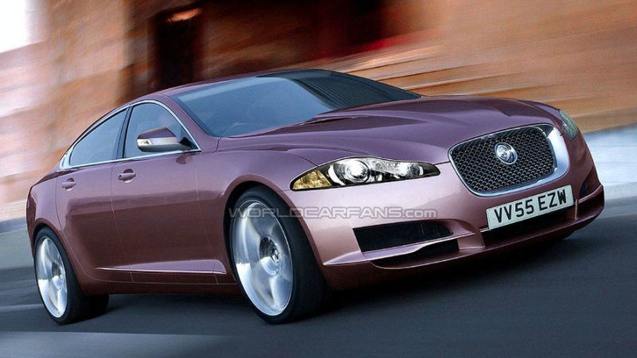 Jaguar XF - Artist Impression