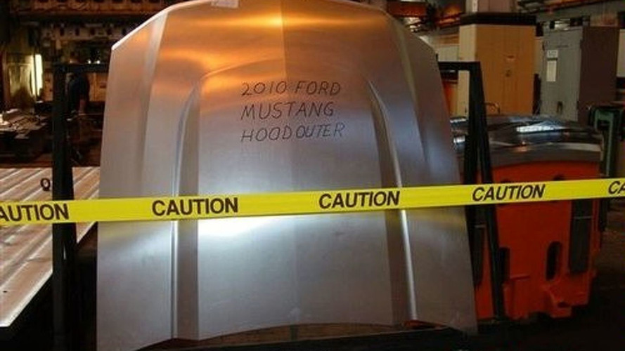 2010 Ford Mustang Hood Found Alone without a Body