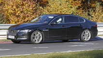 Jaguar XF L spied for the first time