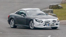2017 Mercedes-Benz SL facelift spy photo