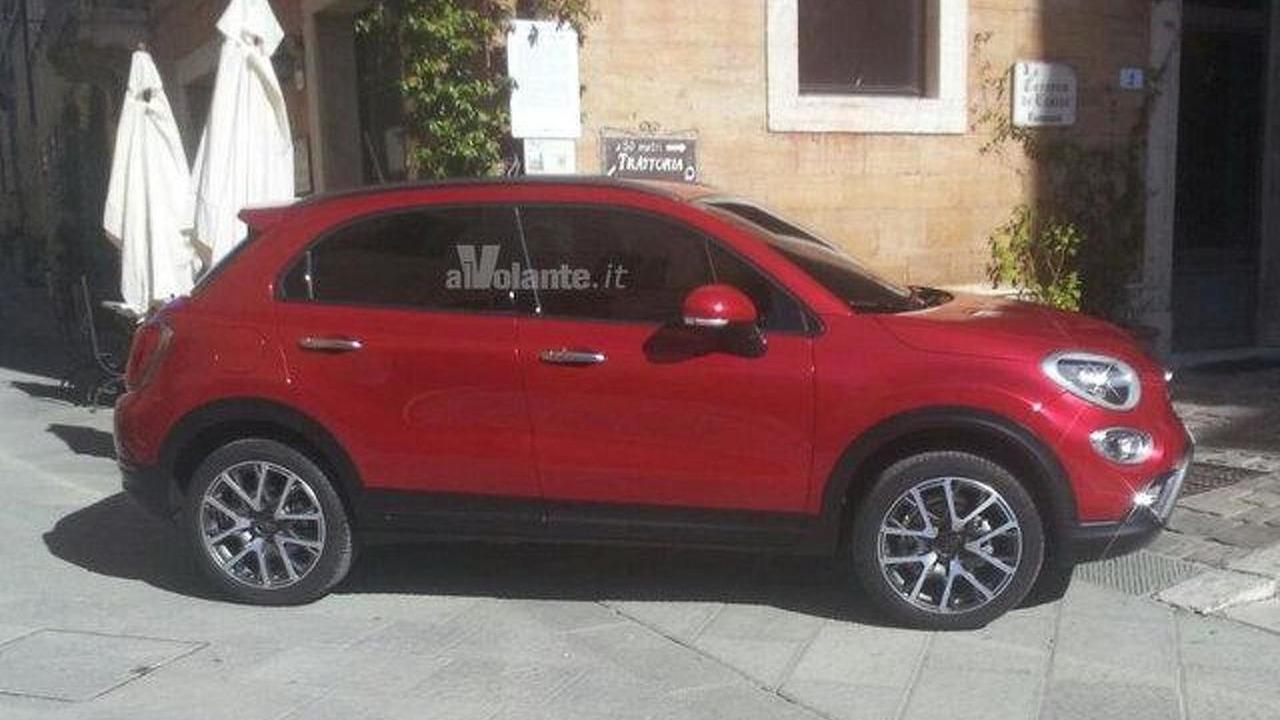 Fiat 500X leaked photo