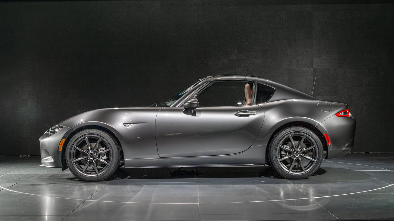 mazda mx 5 miata rf arriving at u s dealers two months early. Black Bedroom Furniture Sets. Home Design Ideas