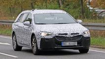 2017 Opel Insignia Sports Tourer spy photos