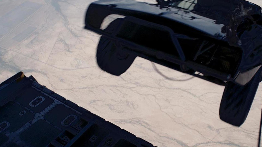 Furious 7 featurette proves they actually airdropped cars [video]