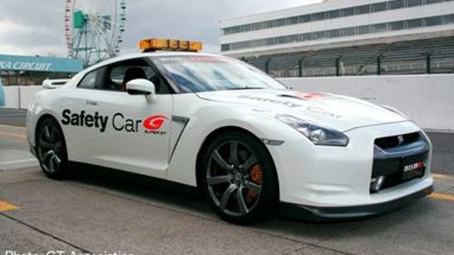 Nissan GT-R Is Official Super GT Pace Car