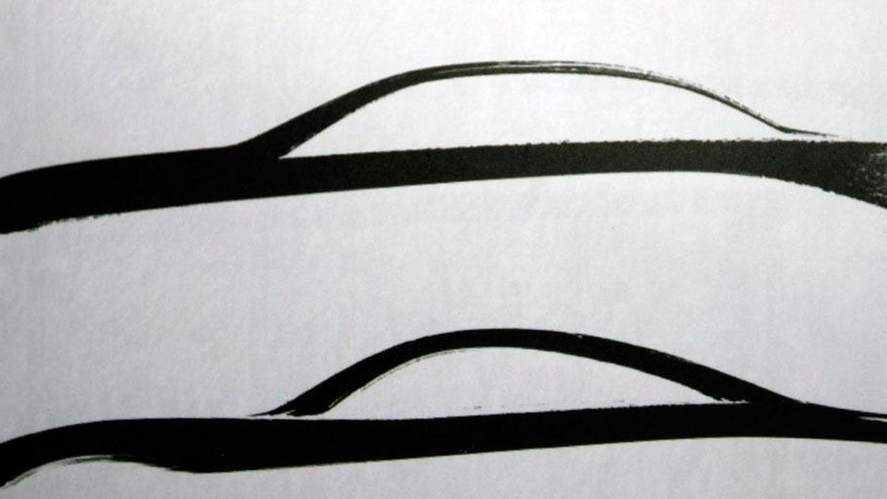 Infiniti M Coupe Sketches