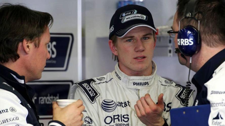 Renault 'not running smoothly' - Hulkenberg