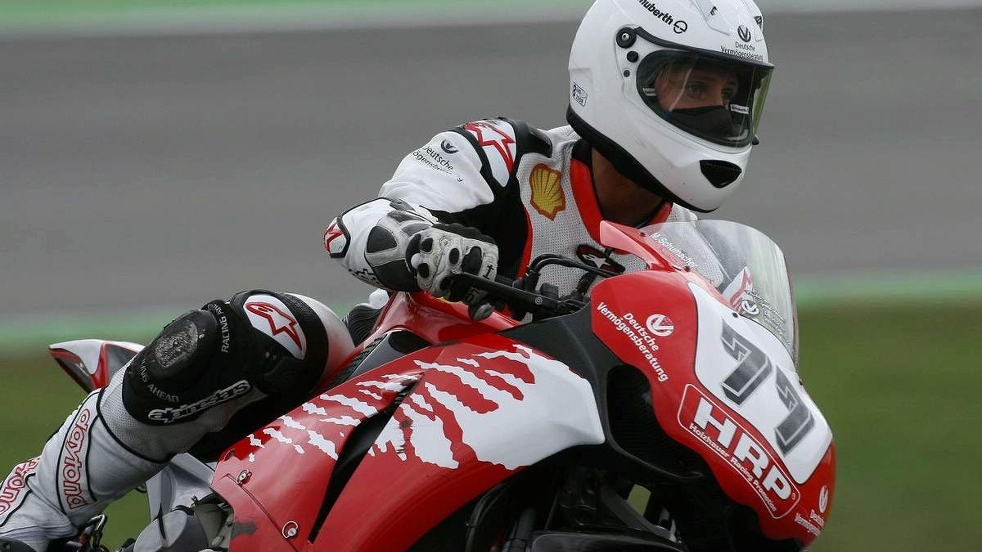 Schu calls off Dutch motorbike race