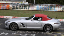 2012 Mercedes Benz SLS Roadster Nürburgring 05.04.2011