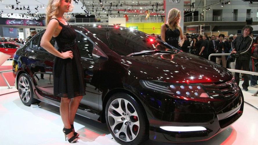 Honda City Concept Debuts at Australian Motor Show