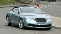 Bentley Continental GTC Speed Spied