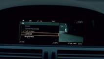 BMW Night Vision set-up menu (english)